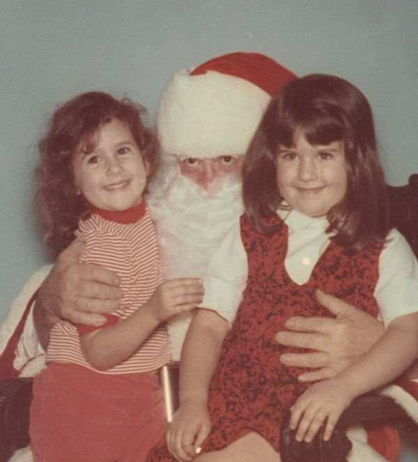 vvdenman with Santa