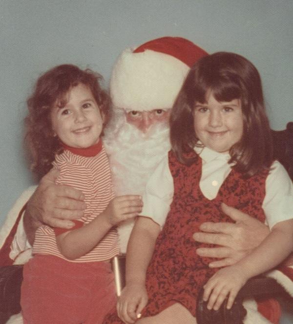 vvdenman with Santa