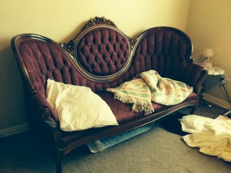 Varina Denman nap couch